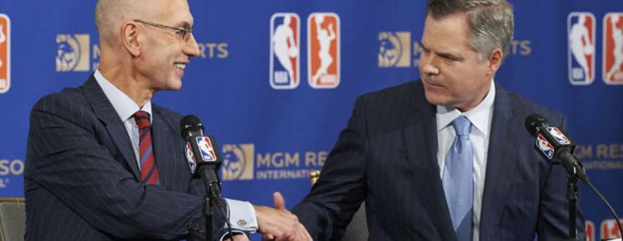 NBA Strikes Gambling Partnership with MGM Resorts