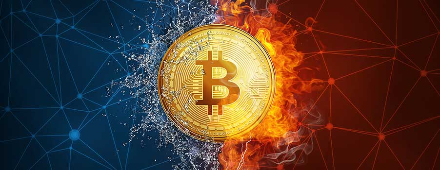 bitcoin divide